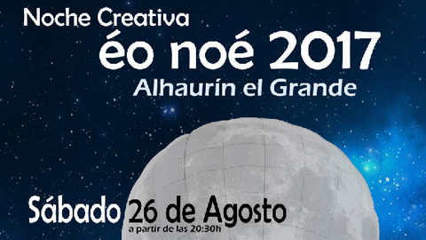 La cultura y el arte toman las calles de Alhaurín el Grande en la vuelta de la 'Noche Creativa Éo Noé'