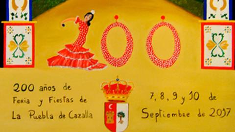 La feria de La Puebla de Cazalla celebra sus 200 años de existencia con una programación especial