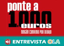 UGT reclama con la campaña 'Ponte a 1.000 euros' que el Salario Mínimo Interprofesional alcance esa cifra en 2020