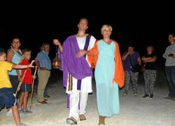 'La Noche enTejá' recrea históricamente la vida en los asentamientos romanos cercanos a Escacena del Campo