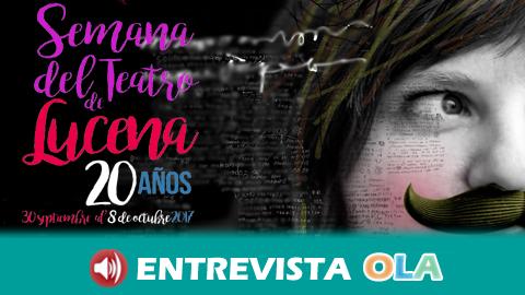 La XX Semana del Teatro de Lucena se centra este año en la juventud local a través de la obra 'Lorca'