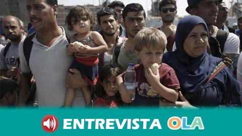 Andalucía se suma a 'Time is up! El tiempo se ha acabado' para exigir que se cumpla el compromiso con los refugiados