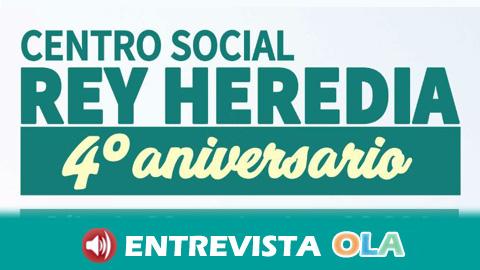 El centro social Rey Heredia de Córdoba cumple cuatro años de apuesta por la solidaridad