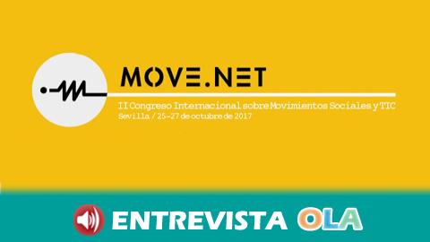 """""""Incluso los movimientos sociales más reacios han comprobado que internet es una herramienta potente"""", José Candón, coordinador de Move.net"""