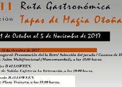 La cocina de autor es la protagonista de la XII Ruta Gastronómica 'Tapas de Magia Otoñal' de Mazagón