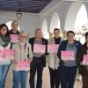 La campaña 'Hagámonos visibles' busca protestar y sensibilizar a la ciudadanía de Almonte contra la violencia machista
