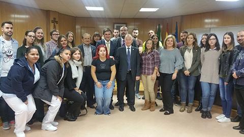 Más de treinta personas se incorporan a la plantilla municipal de Roquetas a través de los planes de empleo autónomicos