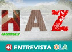 Greenpeace lanza la campaña «HAZ» para sensibilizar sobre el consumo alternativo y responsable