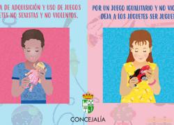 Nueva Carteya lleva a cabo la campaña 'Juego y juguete no sexista y no violento' durante las fiestas navideñas