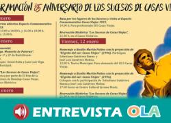 Benalup Casas Viejas celebra el 85 aniversario de Los Sucesos de Casas Viejas con representaciones y actividades de memoria colectiva