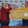 El proyecto 'El Árbol de los Deseos' de la Comunidad de Regantes de Palos de la Frontera ayuda al Banco de Alimentos