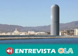 La construcción de la Torre del Puerto de Málaga genera protestas sociales al entender que generaría un impacto visual irreversible