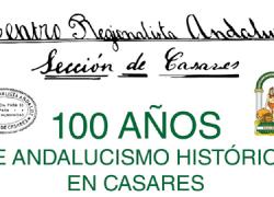 Casares reivindica el valor de la cultura andaluza en la celebración el centenario del Centro Regionalista Andaluz