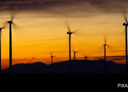 El parque eólico de Almargen queda pendiente de superar el trámite ambiental