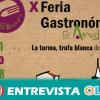 La X Feria Gastronómica de El Almendro pone en valor la gastronomía de la Comarca onubense de El Andévalo con la turma como protagonista