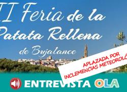 La II Feria de la Patata Rellena de Bujalance da a conocer la gastronomía local a través de la receta estrella del municipio cordobés