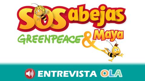 Greenpeace asegura que evitar la desaparición de las abejas requiere cambiar el modelo de producción intensiva y el uso de insecticidas