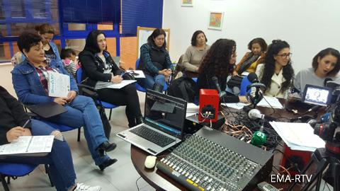 EMA-RTV inicia sus talleres de radio e interculturalidad para mujeres 2018 en Almonte (Huelva)