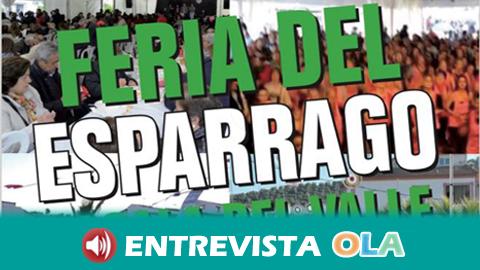 La Feria del Espárrago de Alcalá del Valle promociona los productos agrícolas de la Sierra de Cádiz