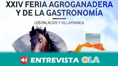 Antiguas tradiciones y costumbres se afianzan en La Feria Agroganadera y de la Gastronomía de Los Palacios y Villafranca