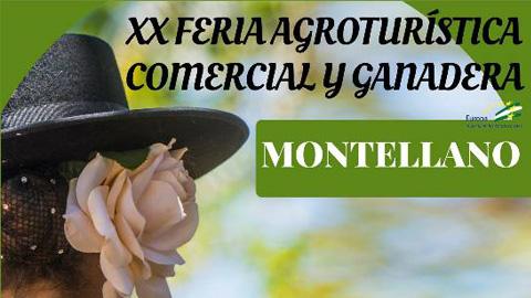 Montellano celebra la XX edición de la Feria Agroturística, Comercial y Ganadera