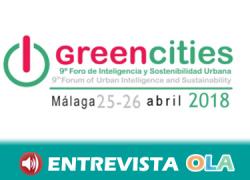 El Foro GreenCities debate en Málaga sobre las oportunidades de las ciudades inteligentes en base a la sostenibilidad
