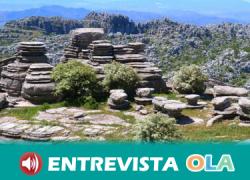 La Ruta de los Anmonites del Torcal de Antequera demuestra el origen marino de este curioso paisaje