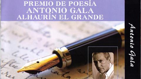 Alhaurín el Grande organiza la XII Edición del Premio Internacional de Poesía Antonio Gala