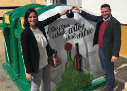 La Feria de Mairena del Alcor acoge una campaña de reciclaje de vidrio