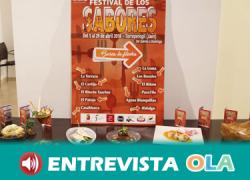 El II Festival de los Sabores de Torreperogil da a conocer los sabores y costumbres de la tierra