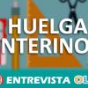 Interinos andaluces siguen de huelga y denuncian servicios mínimos abusivos por parte de la Junta
