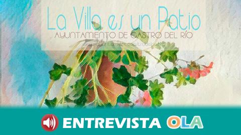 La villa cervantina de Castro del Río se engalana para celebrar su Concurso de Patios y Rejas