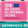 El Instituto Andaluz de Patrimonio Histórico se suma al Año Europeo del Patrimonio Cultural para darlo a conocer y comprometer a la ciudadanía