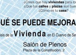 El Cuervo prepara su Plan Municipal de Vivienda y Suelo con la colaboración de sus vecinos y vecinas