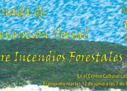 Montellano acoge una Jornada de prevención social sobre incendios forestales