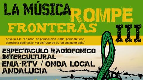 La radio itinerante de EMA-RTV y sus reporteras populares participan en la iniciativa 'La música rompe fronteras' en conmemoración del Día Internacional de las personas refugiadas