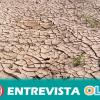 """""""El proceso de desertificación se puede enfrentar con una importante reconversión de la agricultura"""", Abel Lacalle (Fundación Nueva Cultura del Agua)"""