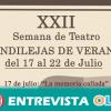 La XXII Semana del Teatro 'Candilejas de Verano' vuelve un año más a Campillos para deleitar a sus vecinos y vecinas a través de este arte