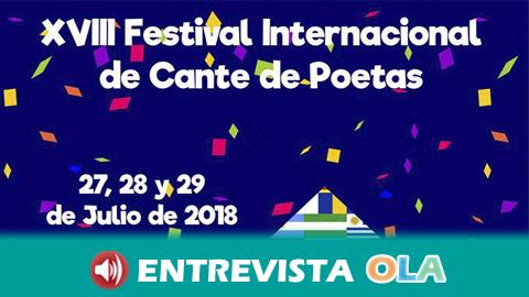 Poetas y trovadores de todo el mundo llegan a la localidad de Villanueva de Tapia para participar en el Festival Internacional de Cante de Poetas
