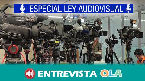 Entidades andaluzas relacionadas con la comunicación social reclaman la aprobación de la Ley Audiovisual de Andalucía antes de que finalice esta legislatura