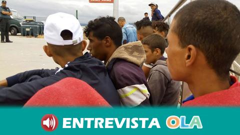 El alcalde de Barbate pide cumplir los derechos humanos y garantizar la protección de los menores migrantes
