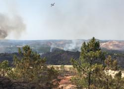 Controlado el incendio de Nerva tras alcanzar 1.747 héctáreas