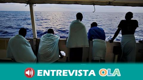 El Colegio de Abogados de Cádiz ofrece asistencia letrada a las personas migrantes que llegan a puerto tras ser rescatadas