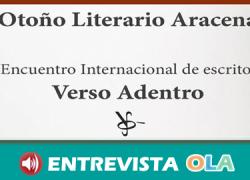 Aracena da la bienvenida al otoño con el III Encuentro Internacional de Escritores 'Verso Adentro'