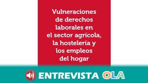 Cáritas denuncia que el campo, la hostelería y el empleo del hogar son los sectores profesionales con más vulneraciones