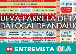 La parrilla de la Onda Local de Andalucía crece con nuevos programas incorporados esta nueva temporada, como 'Hoy cambiamos el mundo' o 'Generación playlist'