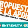 APDHA pide que los partidos incluyan en sus programas electorales una Ley de Inclusión Social