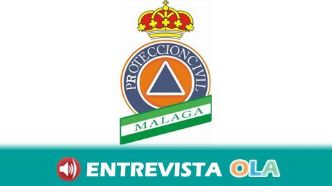 «Sin el voluntariado no existiría Protección Civil porque es el alma de este servicio», Juan Conesa, jefe de Servicio de Protección Civil Diputación de Málaga