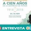 El Congreso de la Fundación Blas Infantese dedica este año al centenario de la Asamblea de Ronda