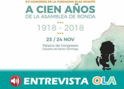 El Congreso de la Fundación Blas Infante se dedica este año al centenario de la Asamblea de Ronda